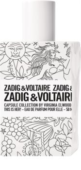 Zadig & Voltaire This is Her! No Rules Capsule Collection by Virginia Elwoodeau de parfum hölgyeknek