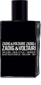Zadig & Voltaire This is Him! Eau de Toilette Miehille