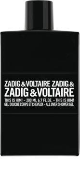 Zadig & Voltaire This is Him! gel de douche pour homme