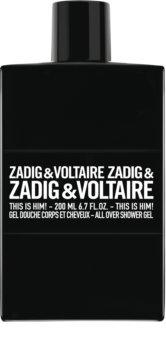 Zadig & Voltaire This is Him! tusfürdő gél uraknak