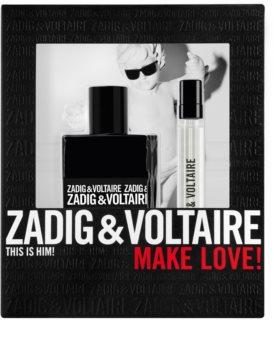 Zadig & Voltaire This is Him! Gift Set  IV. voor Mannen