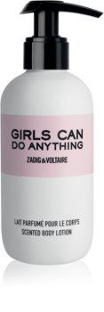 Zadig & Voltaire Girls Can Do Anything telové mlieko pre ženy