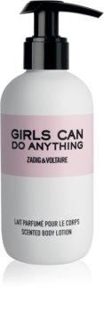 Zadig & Voltaire Girls Can Do Anything молочко для тіла для жінок