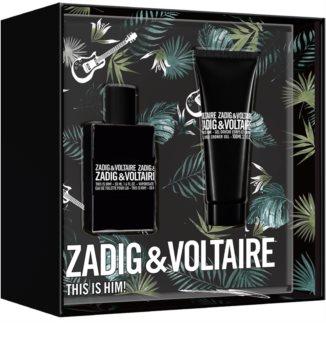 Zadig & Voltaire This is Him! set cadou VI. pentru bărbați