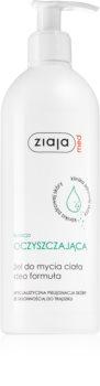 Ziaja Med Antibacterial Care čisticí gel pro redukci kožního mazu na tělo