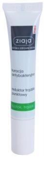 Ziaja Med Antibacterial Care tratamento local para acne no rosto, decote e costas