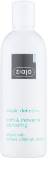 Ziaja Med Atopic Dermatitis Care gel de duș și ulei de baie pentru pielea atopica la copii și adulți