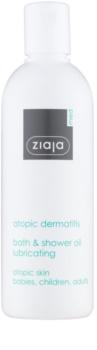 Ziaja Med Atopic Dermatitis Care gel e óleo de banho para a pele atópica das crianças e adultos