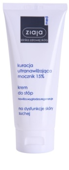 Ziaja Med Ultra-Moisturizing with Urea regeneracijska krema za stopala z vlažilnim učinkom za trdo kožo