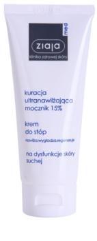 Ziaja Med Ultra-Moisturizing with Urea regeneračný krém na chodidlá s hydratačným účinkom na zrohovatenú pokožku