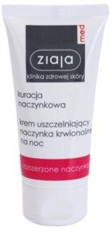 Ziaja Med Capillary Care crema notte rinforzante per prevenire la rottura dei capillari e la formazione di nuovi capillari dilatati