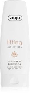 Ziaja Lifting Solution crème éclaircissante mains anti-taches pigmentaires