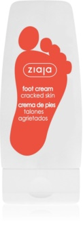 Ziaja Foot Care erneuernde Creme für rissige Fußsohlen