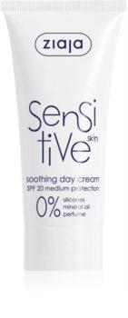 Ziaja Sensitive die beruhigende Creme für trockene und juckende Haut im Gesicht