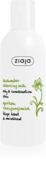 Ziaja Cucumber čisticí mléko pro mastnou a smíšenou pleť