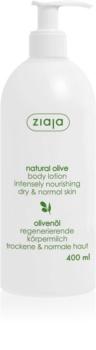Ziaja Natural Olive leite corporal com extrato de azeitonas