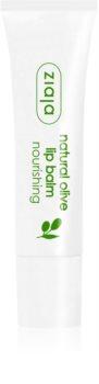 Ziaja Natural Olive bálsamo nutritivo para lábios com extrato de azeitonas