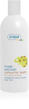 Ziaja Baby bagnoschiuma che cambia colore per i bambini dai 12 mesi