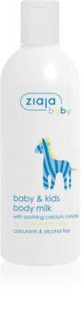 Ziaja Baby Körpermilch für Kinder und Säuglinge ab 1. Monat