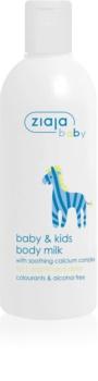Ziaja Baby lait corporel enfant et bébé 1m+
