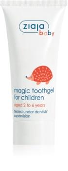 Ziaja Baby zubný gél pre deti s fluoridom