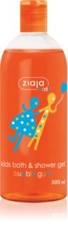 Ziaja Kids Bubble Gum sprchový a koupelový gel