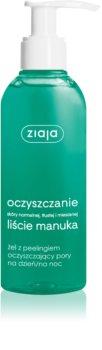 Ziaja Manuka Tree Purifying peelingový čisticí gel pro stažení pórů
