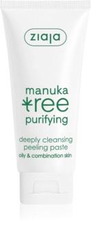 Ziaja Manuka Tree Purifying Cleansing Peeling Paste for Normal to Oily Skin