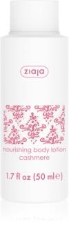 Ziaja Cashmere leite corporal nutritivo  para pele seca