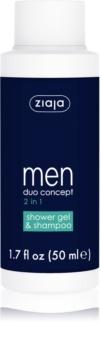 Ziaja Men shampoing et gel de douche 2 en 1