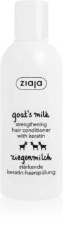 Ziaja Goat's Milk balsamo rinforzante per capelli rovinati e secchi
