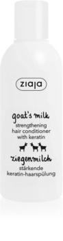 Ziaja Goat's Milk stärkender Conditioner für trockenes und beschädigtes Haar