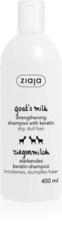 Ziaja Goat's Milk posilňujúci šampón pre suché a poškodené vlasy