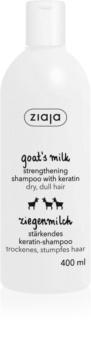 Ziaja Kozie Mleko szampon wzmacniający do włosów suchych i zniszczonych