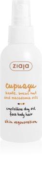 Ziaja Cupuacu huile cristalline sèche visage, corps et cheveux