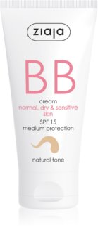 Ziaja BB Cream cremă BB pentru pielea normală și uscată