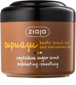 Ziaja Cupuacu Peeling mit Kristallzucker