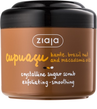 Ziaja Cupuacu кристален скраб със захар