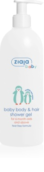 Ziaja Baby gel doccia per corpo e capelli 2 in 1
