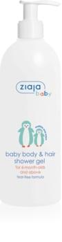 Ziaja Baby tusfürdő gél testre és hajra 2 az 1-ben