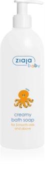 Ziaja Baby krémové hypoalergenní mýdlo pro děti od 3. měsíce
