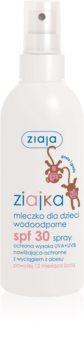 Ziaja Ziajka mléko na opalování ve spreji pro děti SPF 30