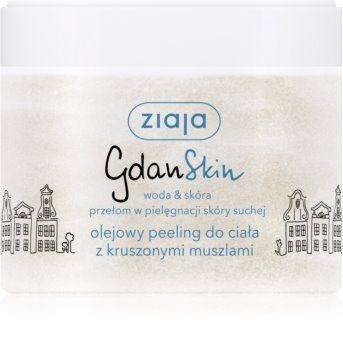 Ziaja Gdan Skin Oil Scrub for Body