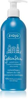 Ziaja Gdan Skin élénkítő hidratáló testápoló balzsam