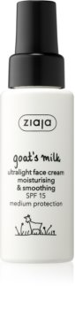 Ziaja Goat's Milk crema giorno lisciante SPF 15
