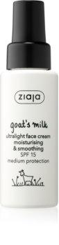 Ziaja Goat's Milk glättende Tagescreme SPF 15
