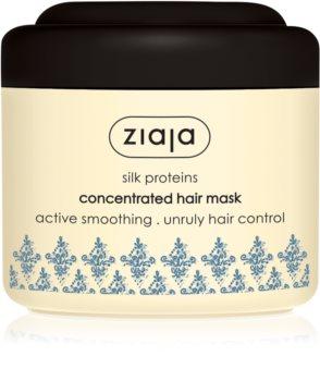 Ziaja Silk masca pentru netezire pentru păr uscat și deteriorat