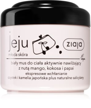 Ziaja Jeju Young Skin mousse lenitiva corpo