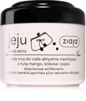 Ziaja Jeju Young Skin успокояваща пяна за тяло