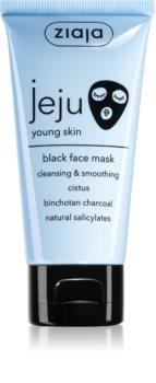 Ziaja Jeju Young Skin Reinigende schwarze Maske für junge..